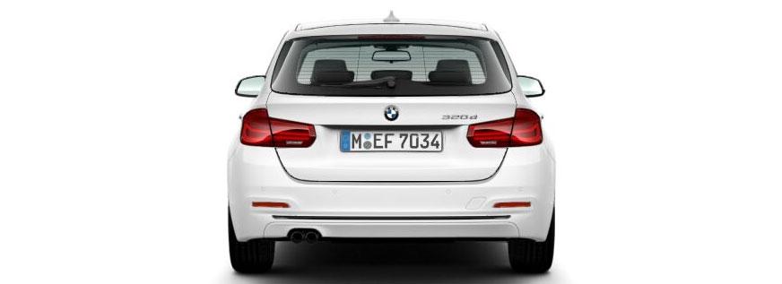 BMW 320d Touring Gewerbekunden Gebrauchtwagenangebot bei Märtin