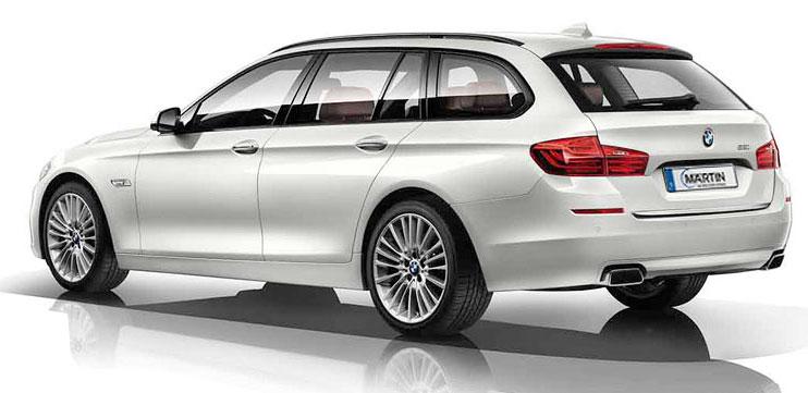 BMW 525d Touring Gewerbekunden Gebrauchtwagenangebot bei Märtin