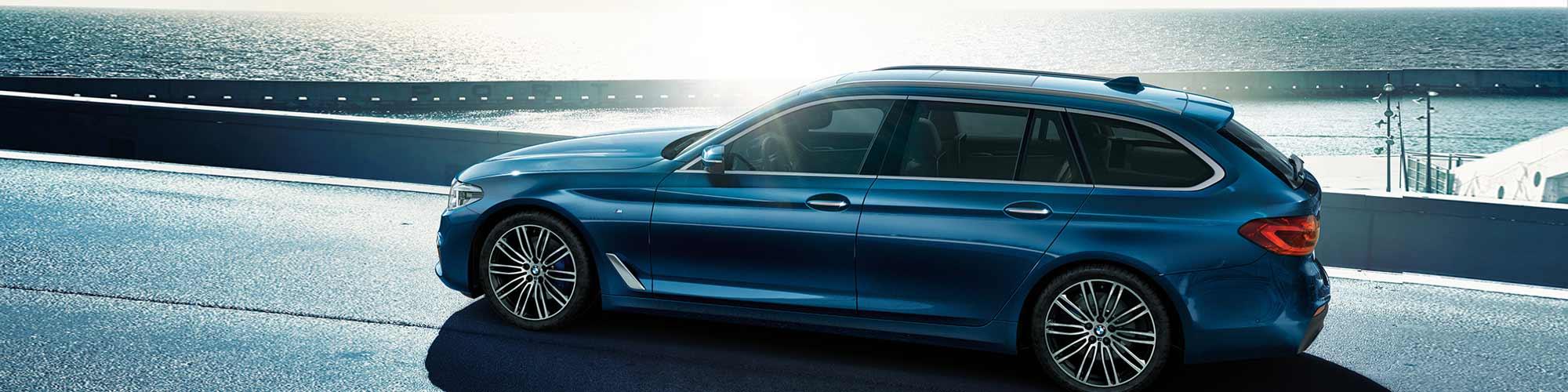 BMW 5er Touring im Autohaus Märtin