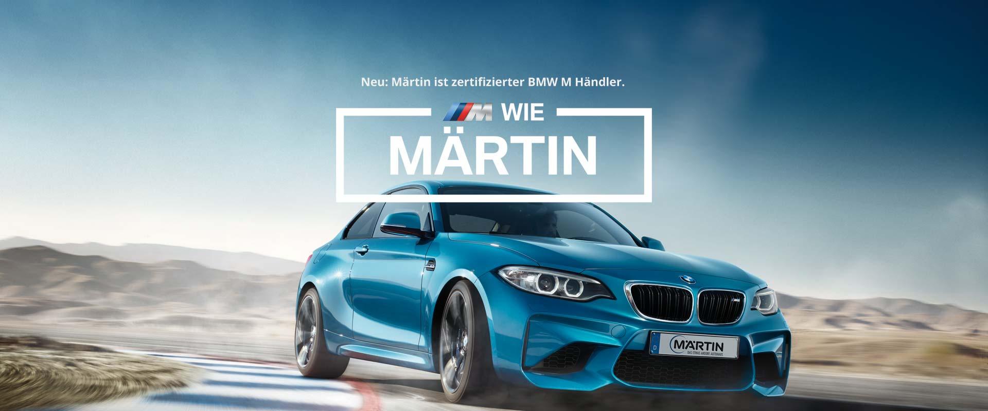 BMW M bei Märtin in Freiburg