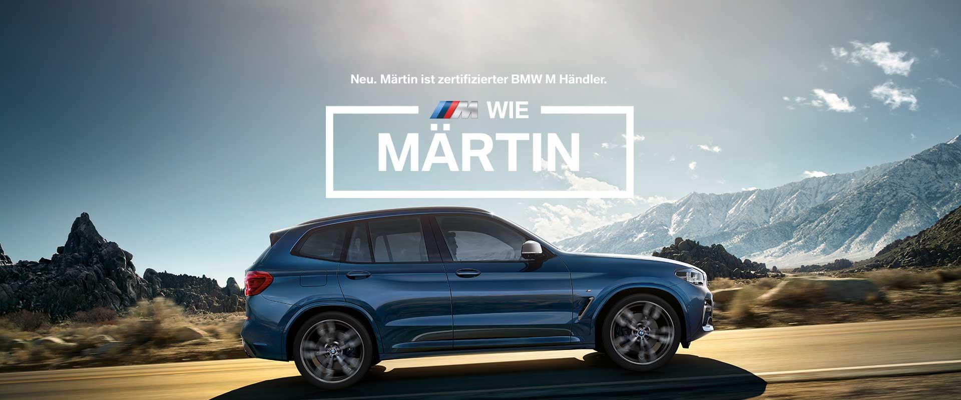 Autohaus Märtin ist zertifizierter BMW M Händler