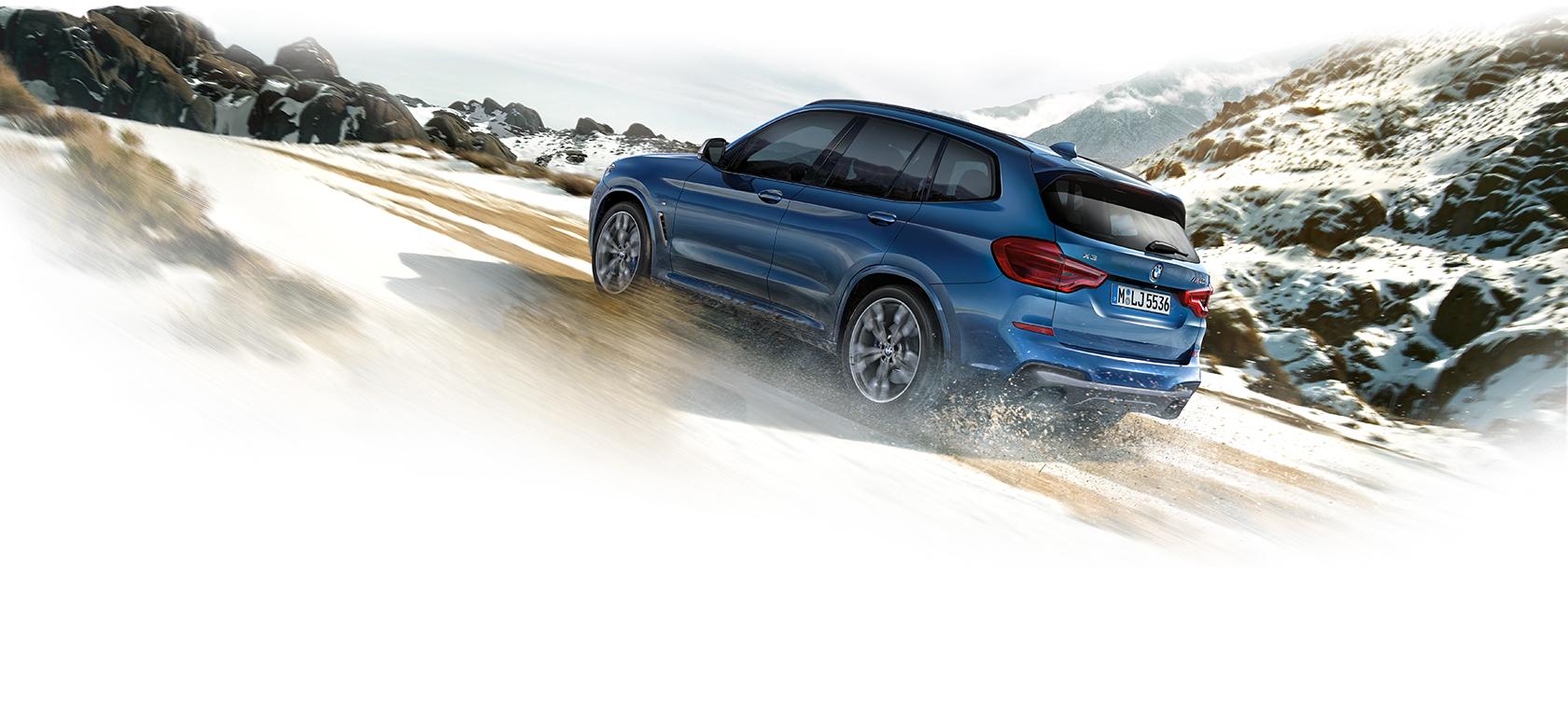 BMW X3 offroad