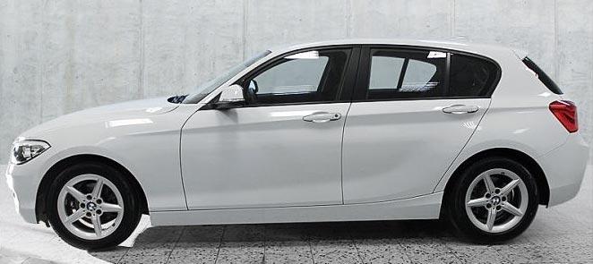 BMW 116d 5-Türer Gebrauchtwagen-Angebot im Autohaus Märtin