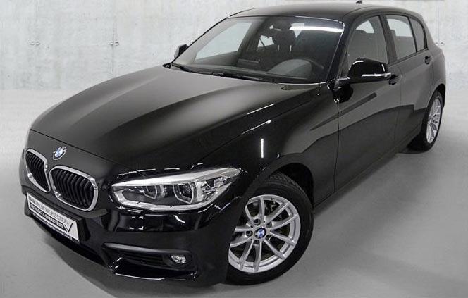 BMW 116i Gebrauchtwagenangebot im Autohaus Märtin