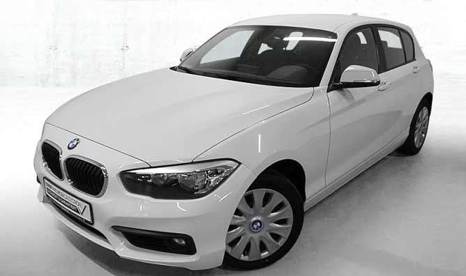 BMW 118d Gebrauchtwagenangebot im Autohaus Märtin