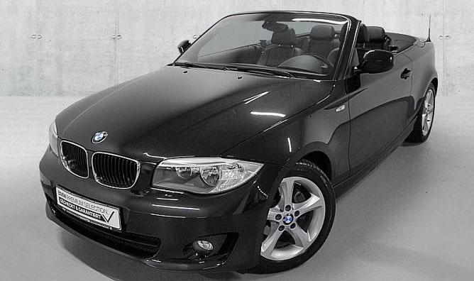 BMW 118i Cabrio Gebrauchtwagenangebot im Autohaus Märtin