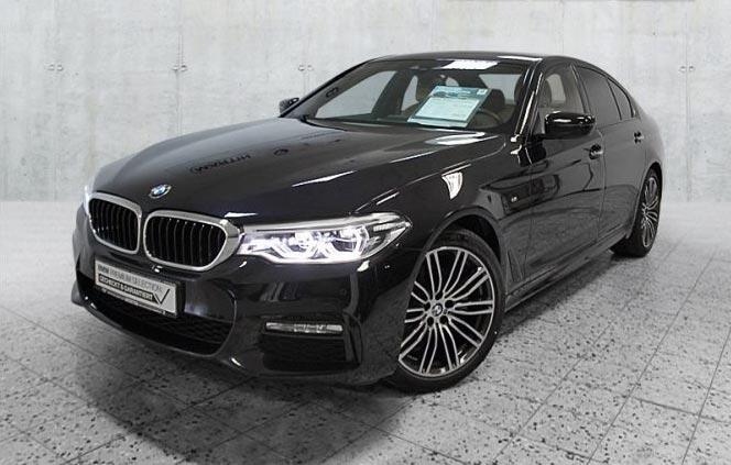 BMW 520d Limousine Gebrauchtwagenangebot im Autohaus Märtin