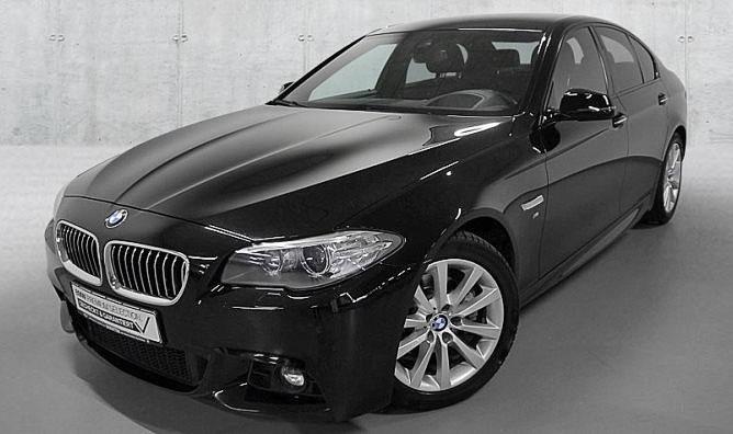 BMW 520d Gebrauchtwagenangebot im Autohaus Märtin