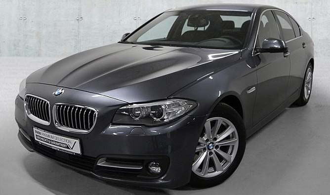 BMW 520d Limousine Gebrauchtwagen-Angebot im Autohaus Märtin