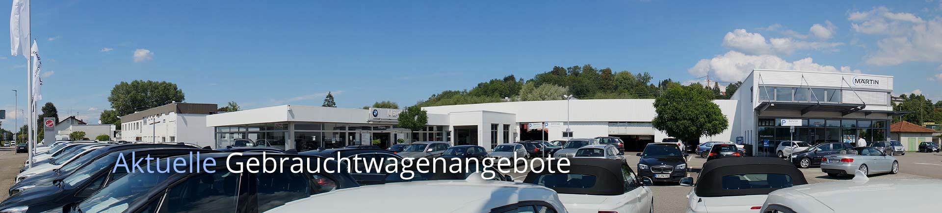 Aktuelle Gebrauchtwagenangebote auf bmw-maertin.de