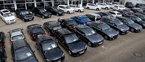 Grosse Fahrzeugauswahl im Autohaus Märtin