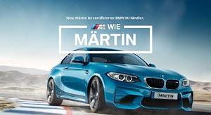 Autohaus Märtin, zertifizierter BMW M Händler