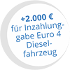 2000 Euro Umweltprämie für Inzahlungnahme Dieselfahrzeug