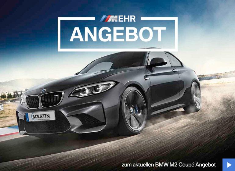BMW M2 Coupé Neuwagen-Angebot im Autohaus Märtin