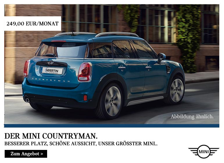 MINI One Countryman Top-Deal im Autohaus Märtin