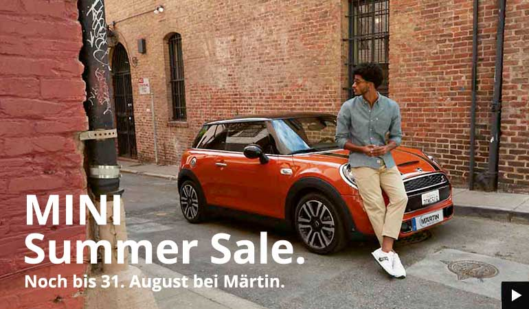 MNI Summer Sale bei Märtin