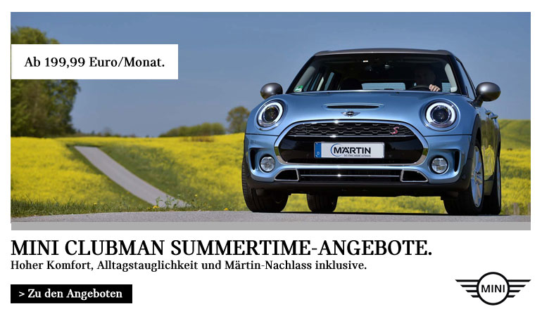 MINI Clubman Summertime Angebote im Autohaus Märtin