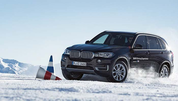 BMW Driving Experience Wintertrainings