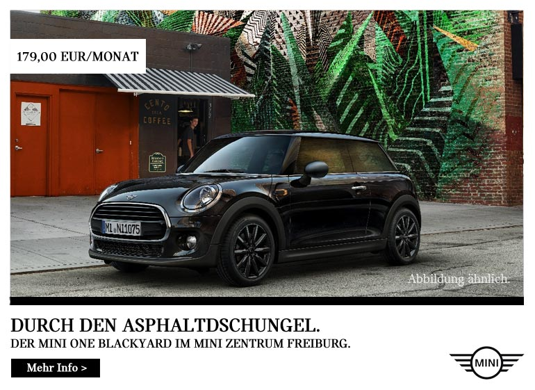 MINI One Blackyard Top-Deal im Autohaus Märtin