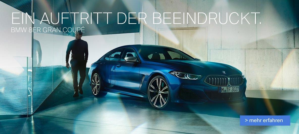 Der neue BMW 8er als Gran Coupe