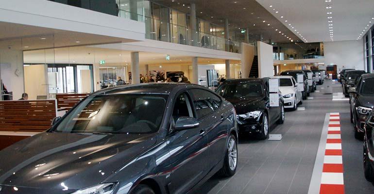 BMW Autohaus Märtin in Freiburg