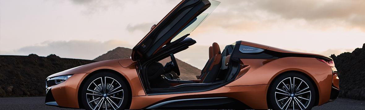 BMW i8 Roadster im Autohaus Märtin Freiburg