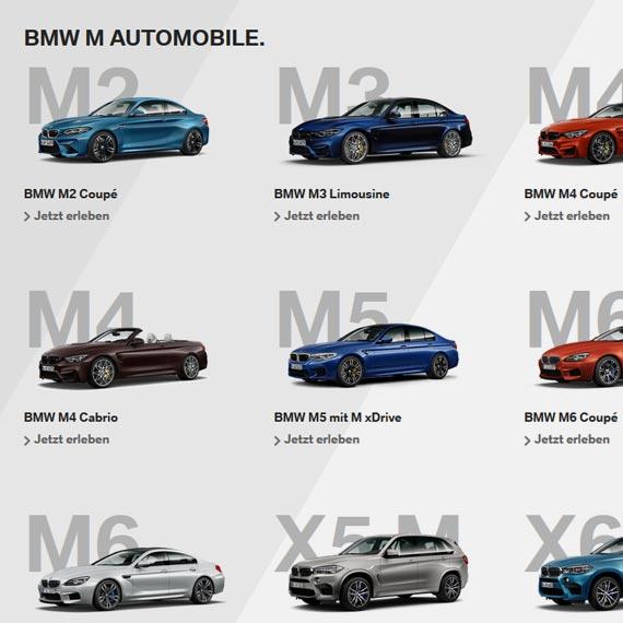 Autohaus Märtin - BMW M konfigurieren