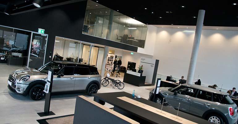 Das neue MINI Zentrum in Freiburg