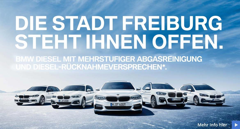 BMW Dieselversprechen