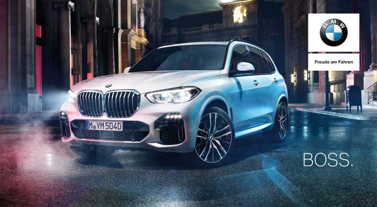 Der neue BMW X5 im Autohaus Märtin