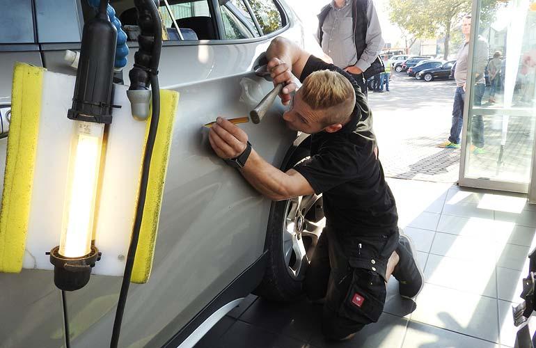 Smart-Repair im Autohaus Märtin