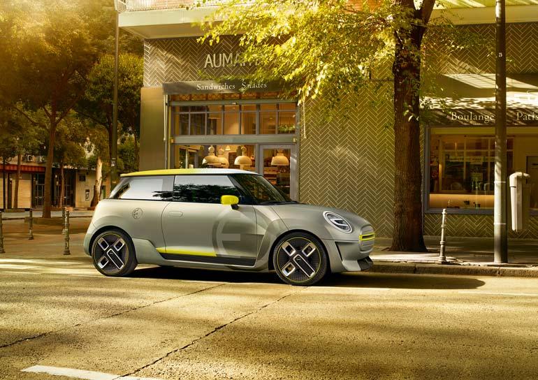 MINI Electric Concept auf der Los Angeles Auto Show
