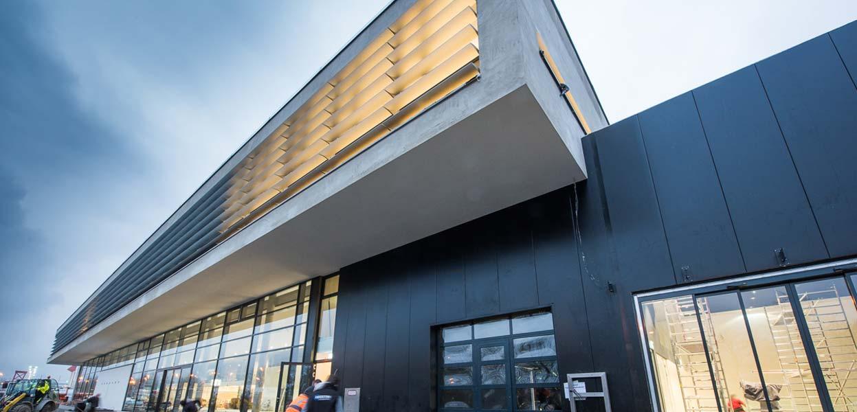 Das neue Autohaus Märtin in Freiburg