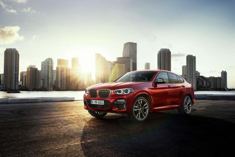 Der neue BMW X4 2018 im Autohaus Märtin