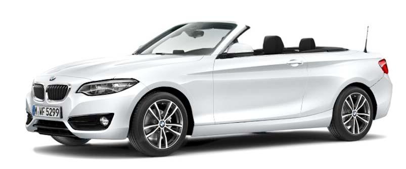 BMW 218i Cabrio Winter-Sale Angebot im Autohaus Märtin