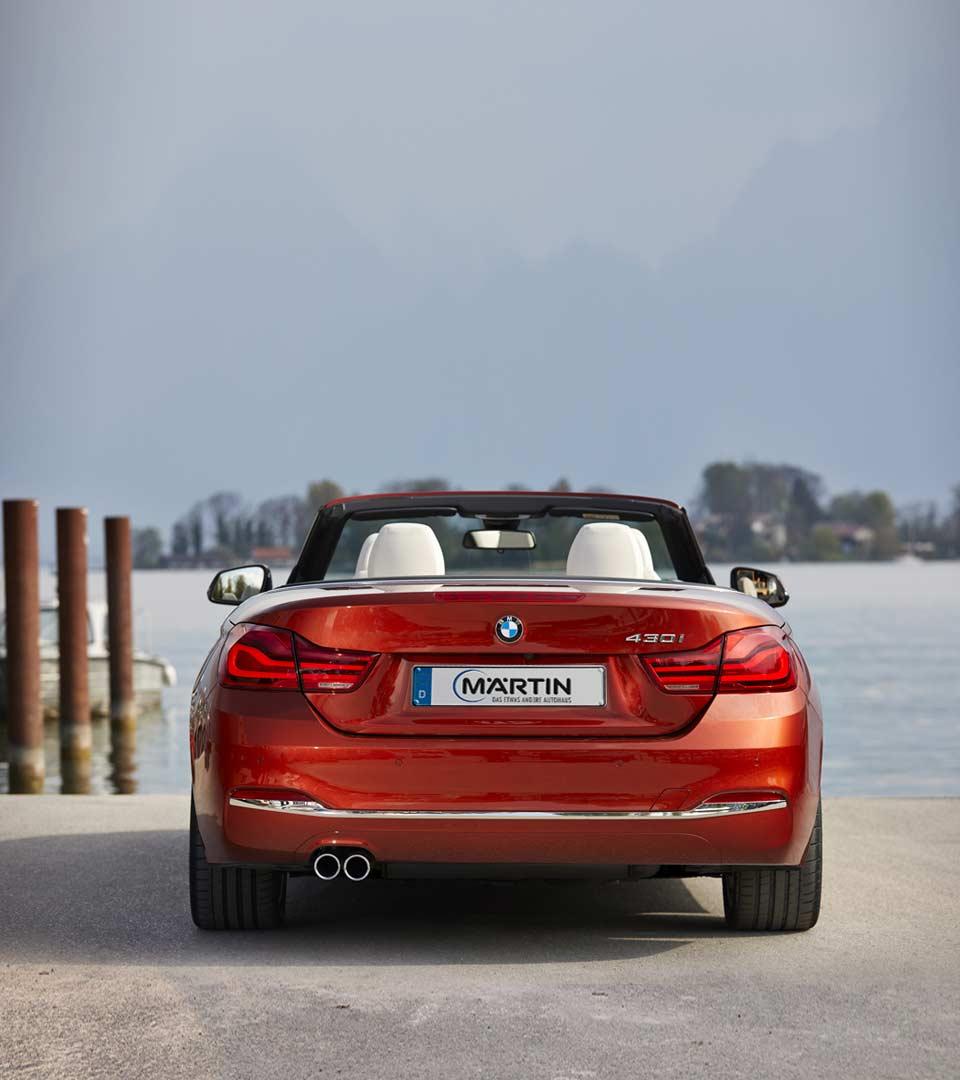 BMW 3er Cabrio im Autohaus Märtin