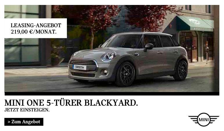MINI One Blackyard 5-Türer Angebot von Autohaus Märtin