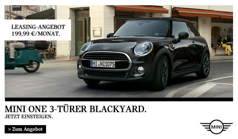 MINI One Blackyard 3-Türer Angebot von Autohaus Märtin