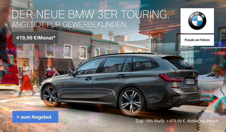 Der neue BMW 3er Touring als Gewerbekundenangebot von Märtin