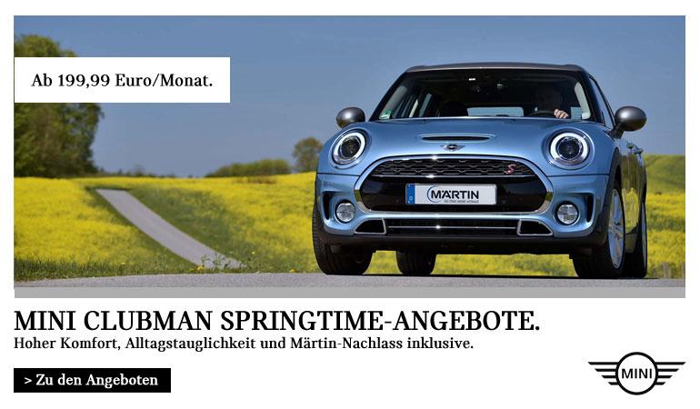 Autohaus Märtin MINI Clubman Springtime Angebote