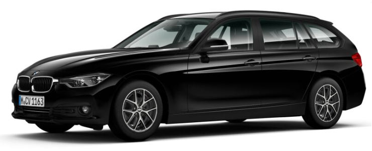 BMW 320i Touring Hallo-Zukunft-Angebot im Autohaus Märtin