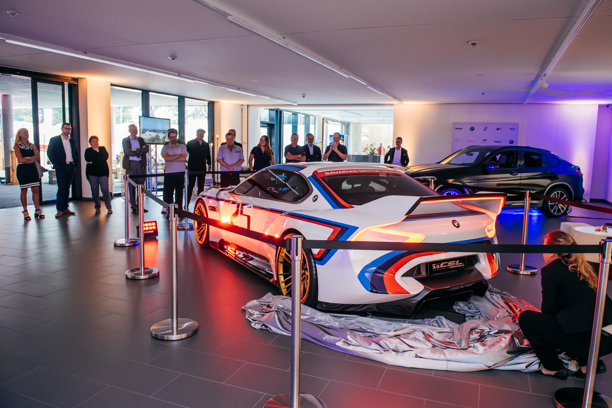 Enthüllung BMW CSL Hommage R