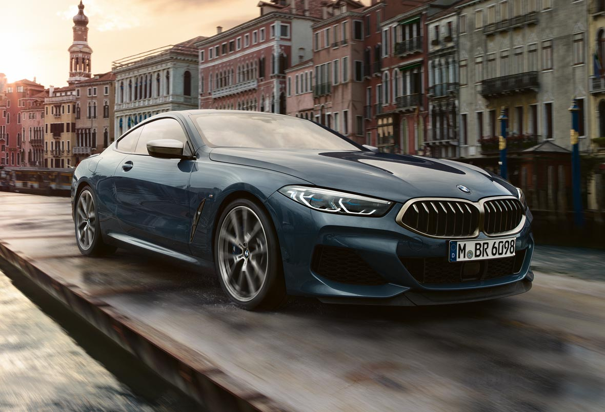 BMW 8er Coupé im Autohaus Märtin