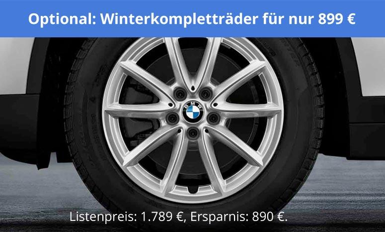 Winterräderkomplettsatz-Angebot im Autohaus Märtin