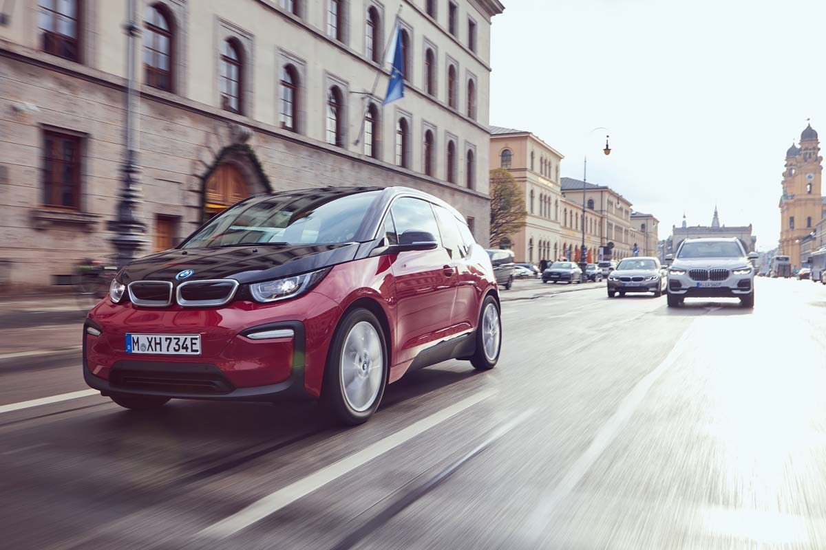 BMW i3 mit 120 Ah Batterie im Autohaus Märtin
