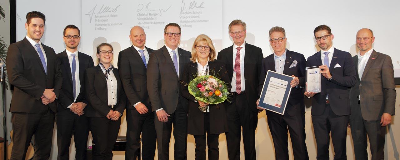 Autohaus Märtin ist Handwerkunternemen des Jahres 2018