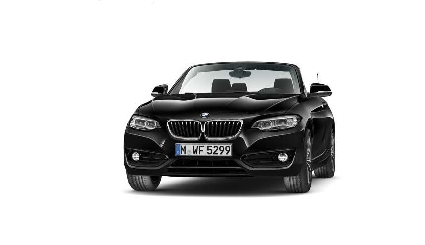 BMW 218i Cabrio Messeangebot von Autohaus Märtin