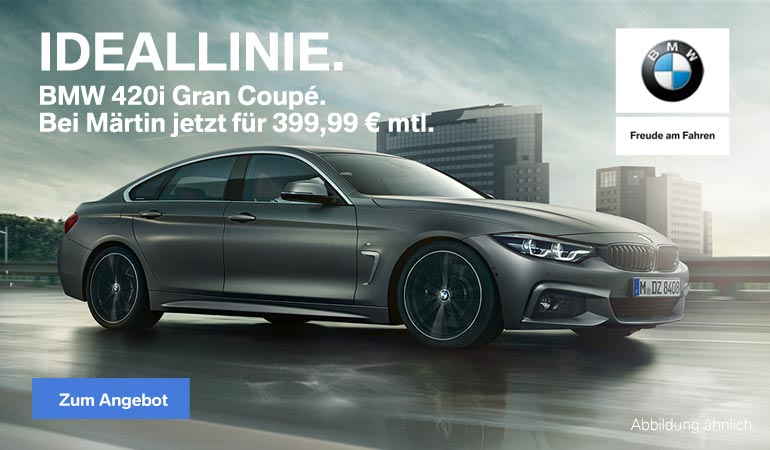BMW 420i Gran Coupé Top-Deal von Märtin