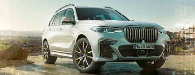 BMW X7 Premiere am Märtin-Messestand der automobil 2019