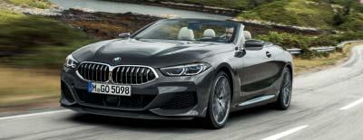BMW 8er Cabriolet Premiere am Märtin-Messestand der automobil 2019